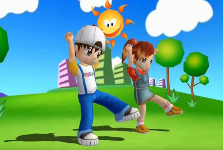 польза зарядки для детей