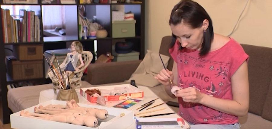 Чем заняться в декрете, чтобы заработать денег Изготовление кукол